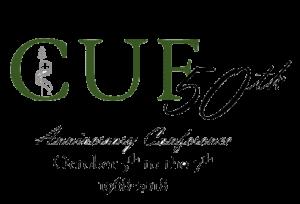 50th Anniversary CUF Conference Logo